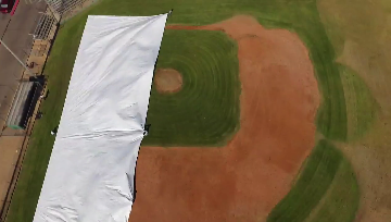 Custom Baseball Field Covers and Tarps